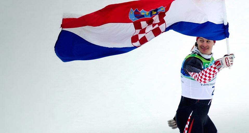 Ivica Kostelic Flag