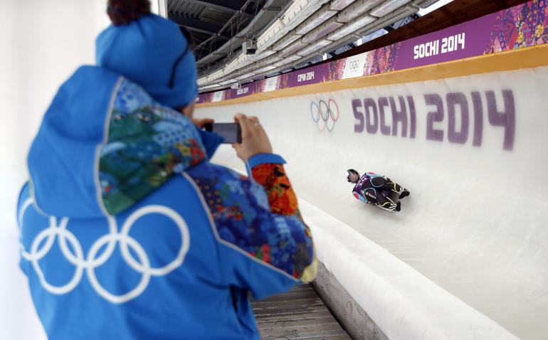 Sochi Olympics Luge