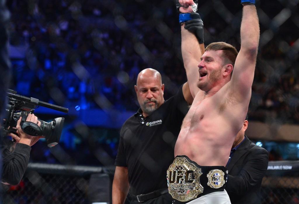 MMA: UFC Fight Night-Werdum vs Miocic