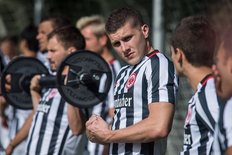 Ante Rebic looked strong on Saturday as he assisted in a last minute equalizer