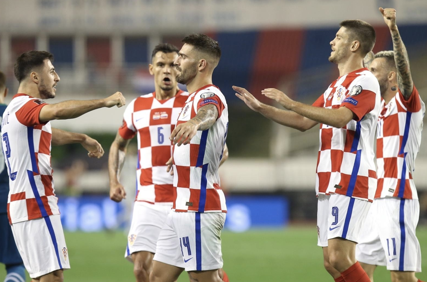 Croatia Easily Handle Slovenia 3-0 To Stay Top Of Group With Russia